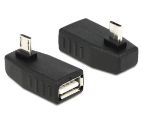 Delock microUSB-USB OTG átalakító 90°-kal elforg.