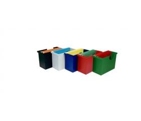 Donau műanyag függőmappa tároló + 5 függőmappa