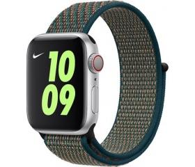 Apple Nike szövet sportpánt 40mm h.bíbor-n.zöld
