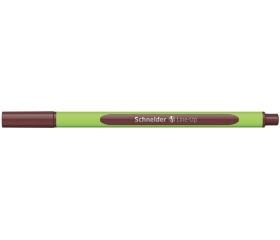 "Schneider Tűfilc, 0,4 mm, ""Line-Up"", barna"