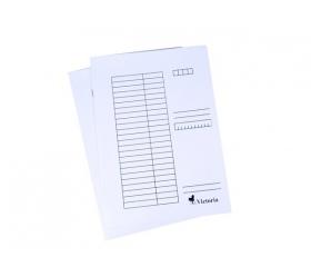 Victoria Pólyás dosszié, karton, A4, fehér 25 db