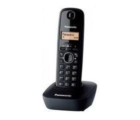 Panasonic KX-TG1611HGH DECT telefon fekete
