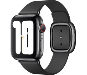 Apple bőrszíj modern csattal 40mm fekete L