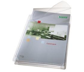 Leitz Genotherm, lefűzhető, A4, 170 mikron, 5db
