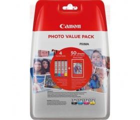 Patron Canon CLI-571 XL Photo Value Pack 4