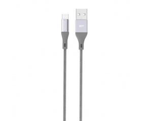 Silicon Power LK30AB micro-USB szürke 1m