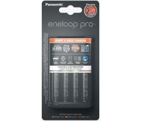 Eneloop Smart & Quick Charger + 4 x AA Pro 2500mAh