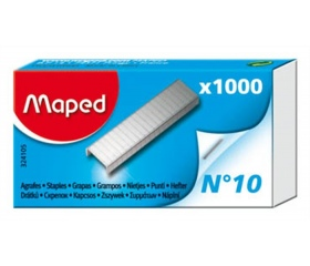 Tűzőkapocs, No. 10, MAPED 1000 db