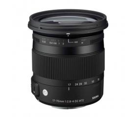 Sigma 17-70/2.8-4 (C) DC Macro OS HSM (Canon)