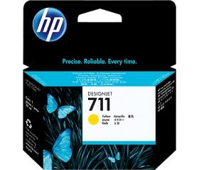 HP 711 29 ml-es sárga