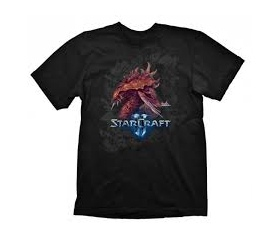 "Starcraft 2 T-Shirt ""Zerg Iconic"", M"