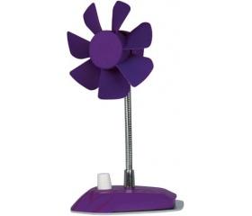 Arctic Breeze lila USB asztali ventillátor