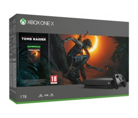 Xbox One X 1TB + Shadow of Tomb Raider