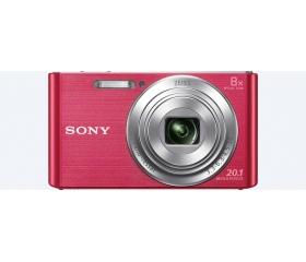 SONY DSC-W830 kit pink - Ajándék 16GB-os kártyával