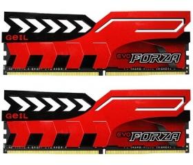 Geil Evo Forza DDR4 3200MHz CL16 Kit2 16GB piros