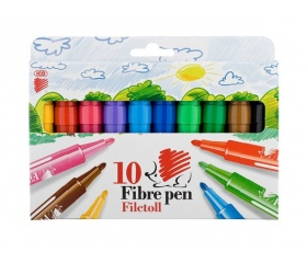 """ICO """"Süni"""" filctoll készlet, 1-3 mm, 10 szín"""