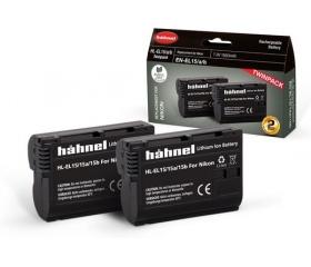 Hahnel HL-EL15/15A/15B Twin Pack (Nikon EN-EL15)