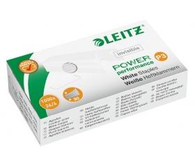 """Leitz Tűzőkapocs, 24/6,  """"P3"""", fehér (1000db)"""