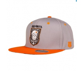 Snapback Call of Duty: Black Ops 4  - Patch (Grey)