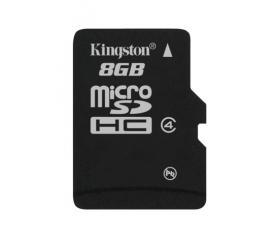 Kingston Micro SD 8GB (SDHC Class 4) (SDC4/8GBSP)