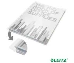 Leitz Genotherm, lefűzhető, A4, 180 mikron, 5db