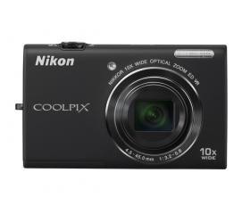Nikon COOLPIX S6200 Fekete