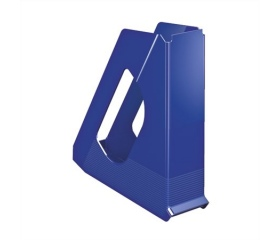 "Iratpapucs, műanyag, 68 mm, ""Europost"", kék"