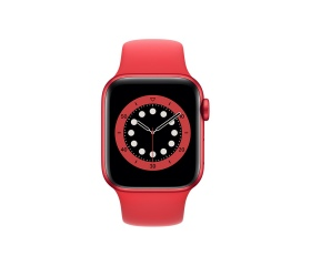 Apple Watch Series 6 40mm Piros alumínium