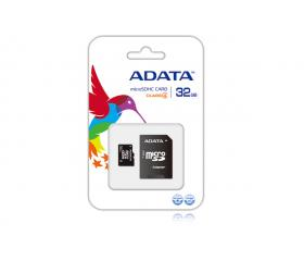 ADATA Micro SD 32GB+Adapter CL4 (AUSDH32GCL4-RA1)