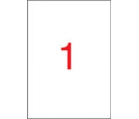 Apli etikett univerzális 210x297 mm 10 APLI etike