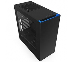 Nzxt SOURCE 340 Fekete-Kék