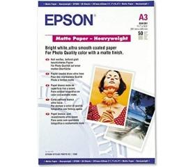 Epson Matte Paper Heavy Weight 167g A3 50lap