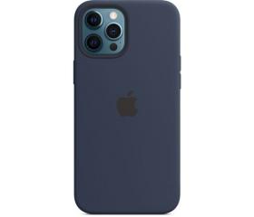 Apple iPhone 12 Pro Max MagSafe sz.tok mély te.kék
