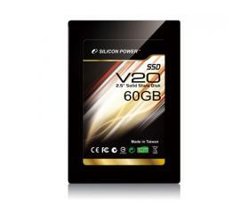 """Silicon Power SATA 2,5"""" 60 GB MLC V20"""