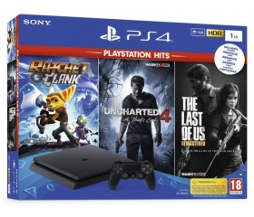 Sony PlayStation 4 Slim 1TB + HITS bundle