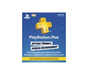 Sony Psn PlayStation Plus 365 napos feltöltőkártya
