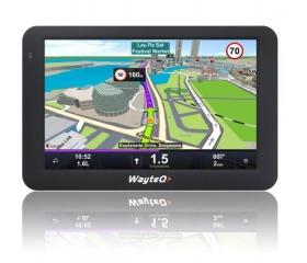 """WayteQ Gps x995 7"""" GPS navigáció + Sygic Full EU"""