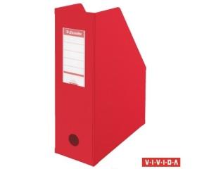 Esselte Iratpapucs, 100 mm, összehajtható, Piros