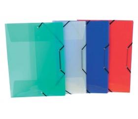 Viquel Propyglass A4 PP 30mm gumis mappa