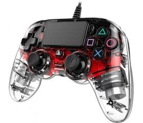 Bigben Nacon PS4 Wired Compact Controller v.piros
