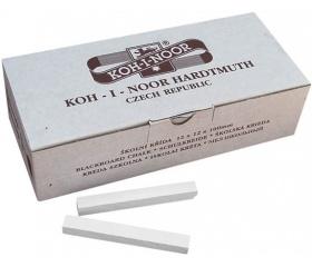 Táblakréta, szögletes 100 db-os KOH-I-NOOR, fehér
