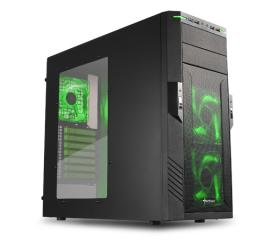 Sharkoon T28 fekete-zöld