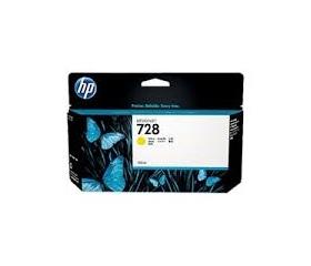 HP 728 Yellow 130 ml