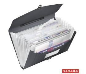 "Esselte ""Vivida"" Harmonika táska, A4"