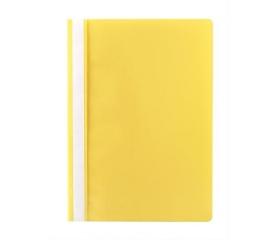 Victoria Gyorsfűző, PP, A4, citromsárga (10db)