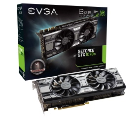 EVGA GTX1070Ti 8GB SC