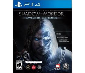 PS4 Middle Earth Shadow of Mordor Game of the year