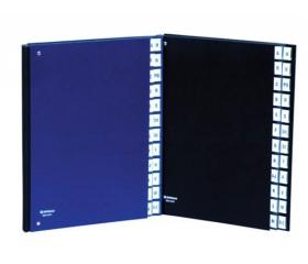 Donau Előrendező, A4, 1-31, karton, sötétkék