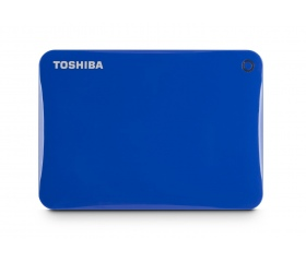 TOSHIBA Canvio Connect II 2TB Kék