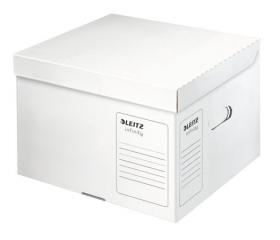Leitz Archiváló konténer, M méret, Fehér